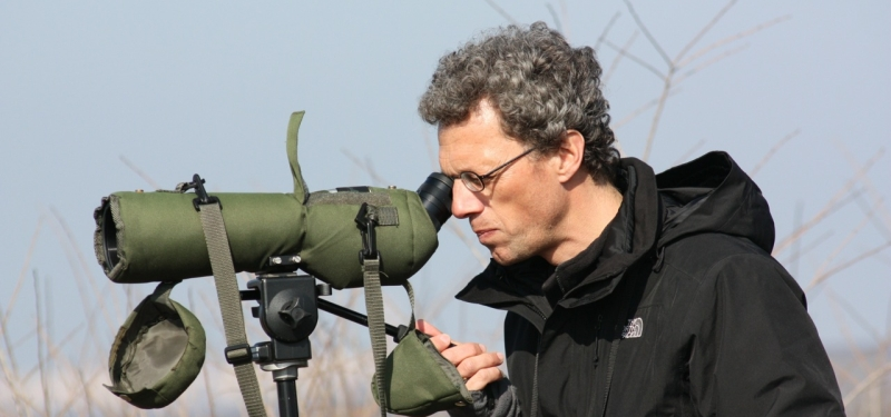 Birdwatching guide in the Netherlands Leo Apon
