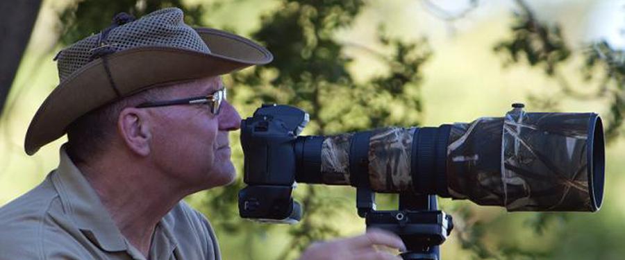 Wildlife photographer in The Netherlands Cor Visser